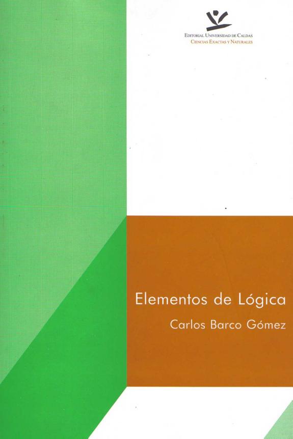 Elementos de lógica libro de carlos barca gomes
